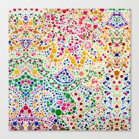 confetti Canvas Prints featuring Confetti by Love2Snap