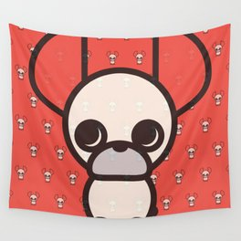 French Bulldog ICollection  Wall Tapestry