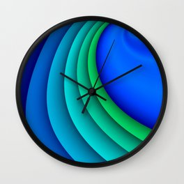 fluid -47- Wall Clock