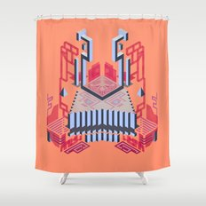 Keep of the Blue Lobster Shower Curtain