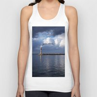 breathe Tank Tops featuring breathe by gzm_guvenc