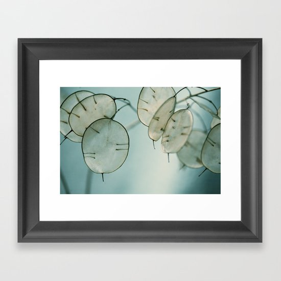 There is Strength Framed Art Print