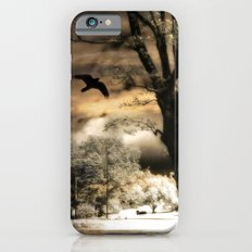 Surreal Gothic Infrared Raven Tree Landscape Nature Slim Case iPhone 6s
