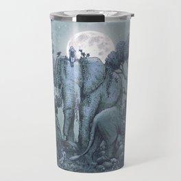 Midnight in the Stone Garden (colour option) Travel Mug