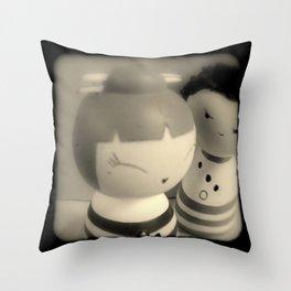 Sweet on Stripes Throw Pillow