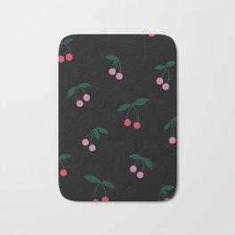 Cherry Print Bath Mat