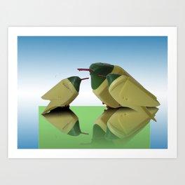 Cif bird Art Print