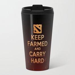 Keep Farmed & Carry Hard (DO-TA) Travel Mug