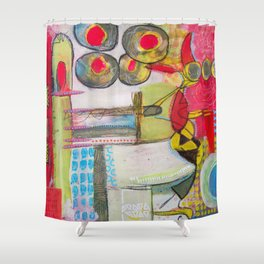 Carnival Time Shower Curtain