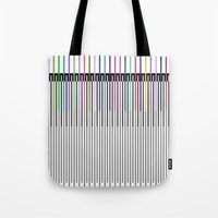 sound Tote Bags featuring Sound by Georgiana Paraschiv