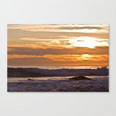 El Matador Sunset, 2011 Canvas Print