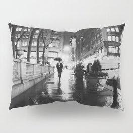 New York City Noir Pillow Sham