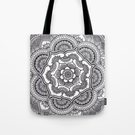 Spring Lotus Tote Bag