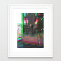 urban Framed Art Prints featuring Urban by Jane Lacey Smith