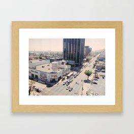 Sunset Blvd Framed Art Print