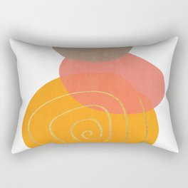Modern minimal forms 32 Rectangular Pillow