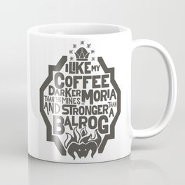 Dwarven Coffee Coffee Mug