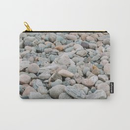 Stones at the beach - denmark Carry-All Pouch