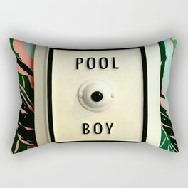 Pool Boy Rectangular Pillow