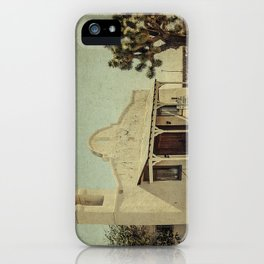 The Sanctuary Adventist Church a.k.a The Kill Bill Church iPhone Case