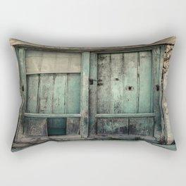 Old Green Door Rectangular Pillow