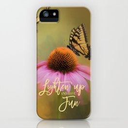 Butterflies At Play iPhone Case