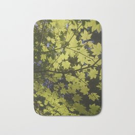 Maple Leaves Bath Mat