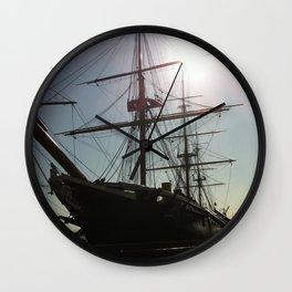 HMS Warrior Wall Clock