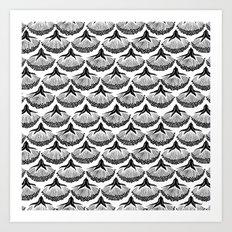 Dark Botanicals (2) Art Print