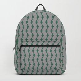 Teal lines Backpack