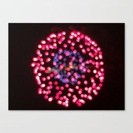 Unfocused firework Canvas Print