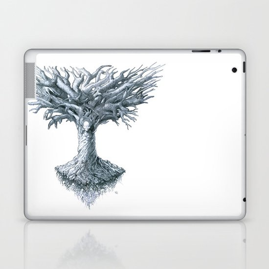 The Tree of Many Things Laptop & iPad Skin