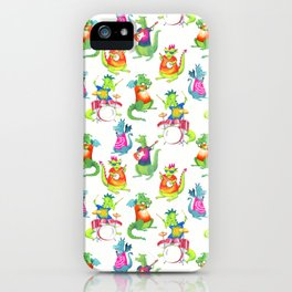 Dragon Band iPhone Case