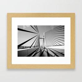 HongKong Bridge Framed Art Print