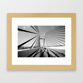 HongKong Bridge Framed Art Print