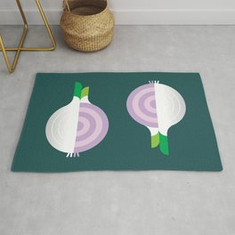 Vegetable: Onion Rug