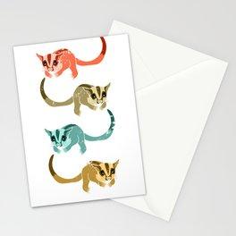 Sugar Glider Retro Stationery Cards