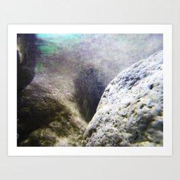 Aqua 2 Art Print