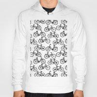 bikes Hoodies featuring Bikes by sarknoem
