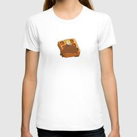 leslie knope T-shirts featuring Leslie Knope + Giant Waffle by Faellen
