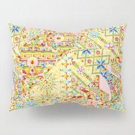 Sunshine Crazy Quilt (printed) Pillow Sham