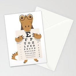 Alligator glasses Stationery Cards