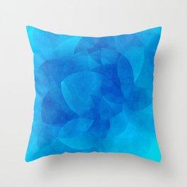 Schnittmenge III Water Throw Pillow