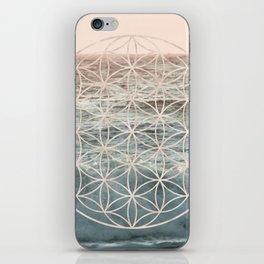 Mandala Flower of Life Sea iPhone Skin