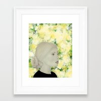emily rickard Framed Art Prints featuring Emily by Teri Martin