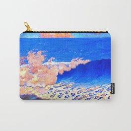 Georges Lacombe - Marine bleue, Effet de vague  - Les Nabis Painting Carry-All Pouch