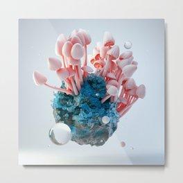 Mushroom Rock Metal Print