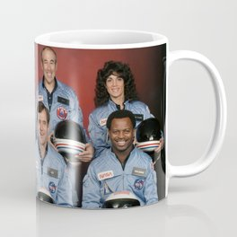 Space Shuttle Challenger Crew, November 1985 Coffee Mug
