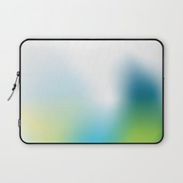 Divine blue and green Laptop Sleeve