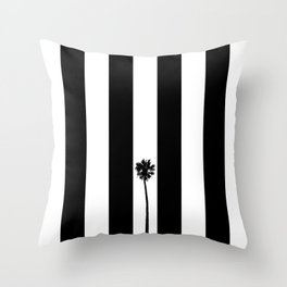 Palm Tree Flag Throw Pillow